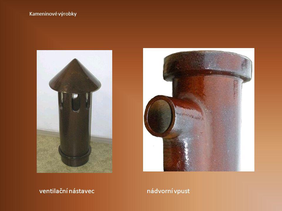 Kameninové výrobky ventilační nástavec nádvorní vpust