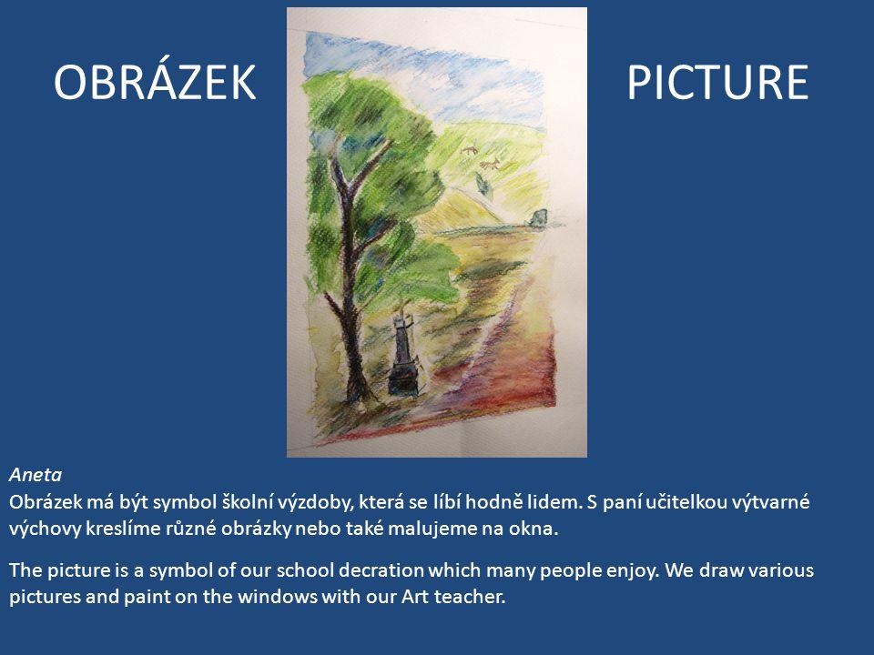 OBRÁZEK PICTURE Aneta Obrázek má být symbol školní výzdoby, která se líbí hodně lidem.