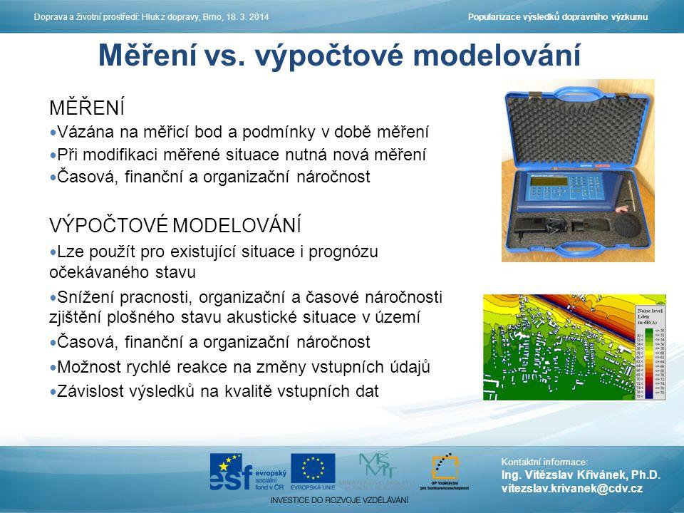 Centrum dopravního výzkumu, v.v. i. Líšeňská 33a, 636 00 Brno www.cdv.cz Děkuji vám za pozornost.