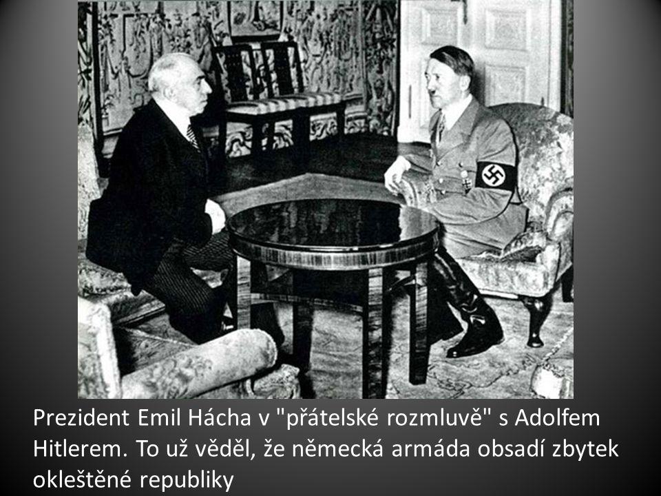 Prezident Emil Hácha v