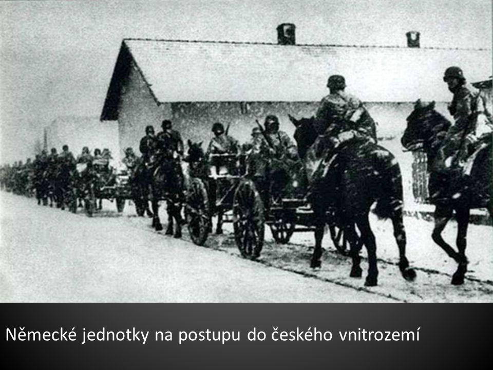 Do Moravské Ostravy dorazily první němečtí vojáci už 14. března 1939