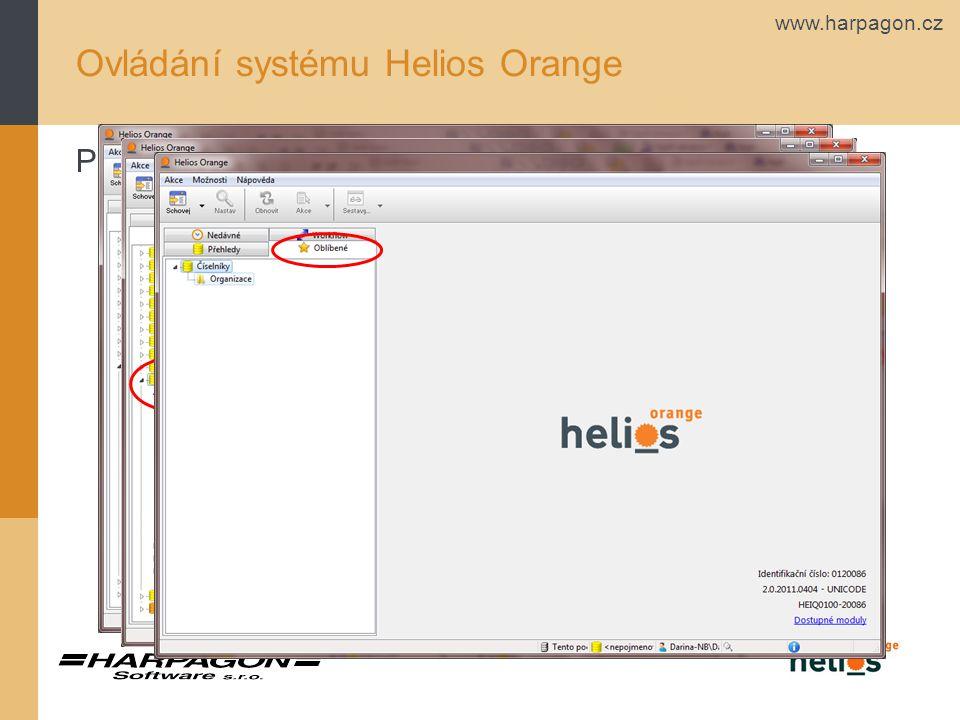 www.harpagon.cz Ovládání systému Helios Orange Přidat k oblíbeným