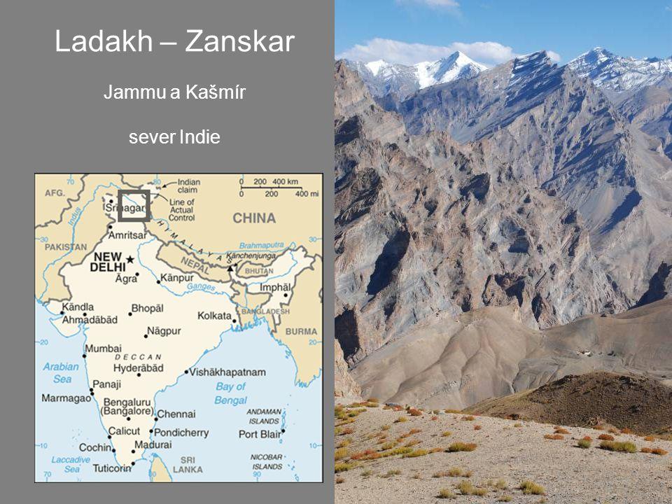 Ladakh – Zanskar Jammu a Kašmír sever Indie
