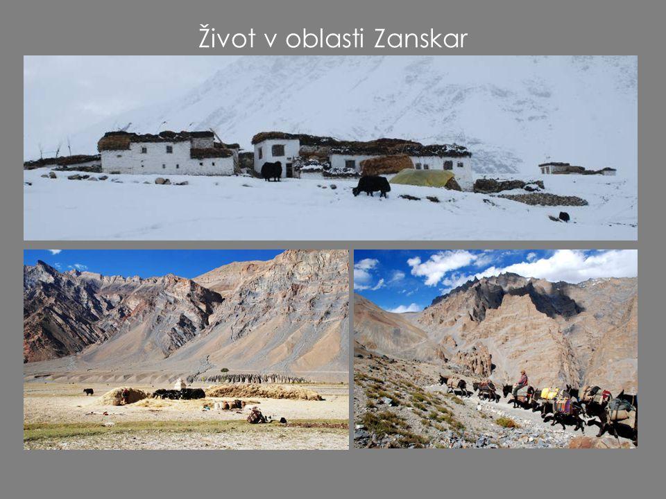 Život v oblasti Zanskar