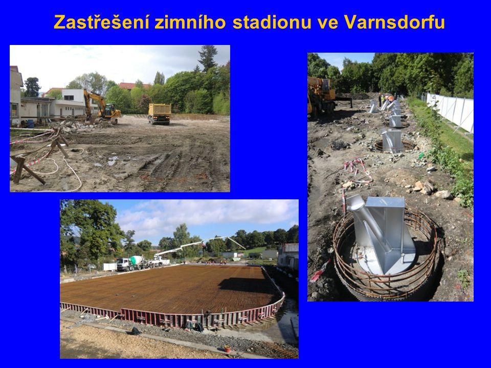 Zastřešení zimního stadionu ve Varnsdorfu