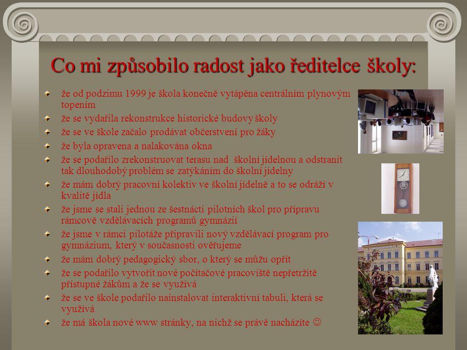 Vzdělání: Univerzita Karlova v Praze - filozofická fakulta – pedagogika a psychologie – učitelství pro školy II.