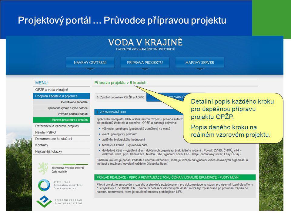 8 Projektový portál...