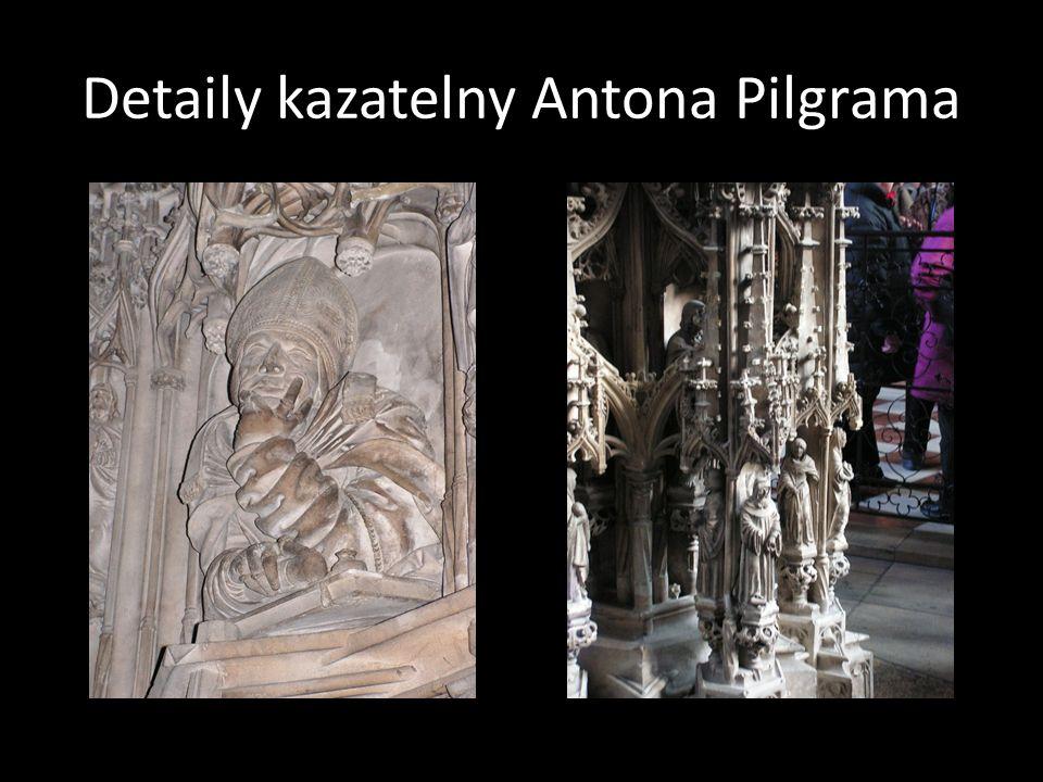 Detaily kazatelny Antona Pilgrama