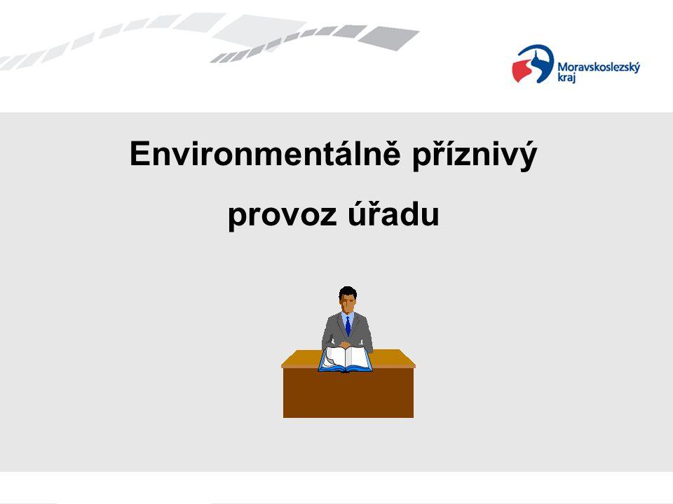 Environmentálně příznivý provoz úřadu