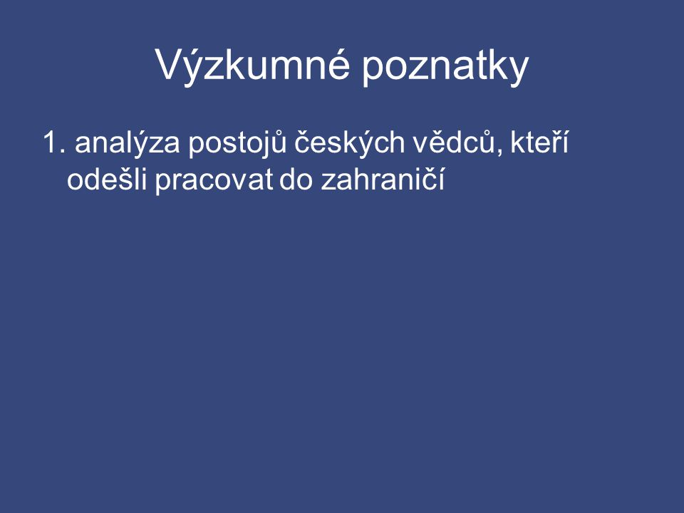 Kontakty s českým prostředím