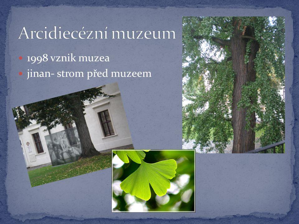  1998 vznik muzea  jinan- strom před muzeem