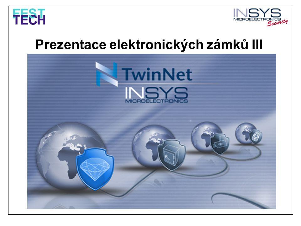 Prezentace elektronických zámků III