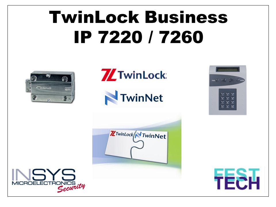 TwinLock Busines IP Příklady problémů, které mohou vzniknout při běžném provozu banky a lze je lépe řešit pomocí softwaru TwinNet a elektronického zámku TwinLock Business IP: •Organizační problémy vzniklé na pobočkách s malým počtem pracovníků •Náhlá nepřítomnost pracovníka – např.