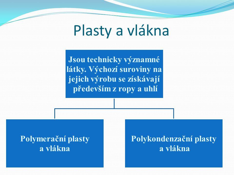 Polytetrafluorethylen=Teflon Výroba: polymerací tetrafluoretylenu Vlastnosti: mimořádně chemicky a tepelně odolný, výborný el.