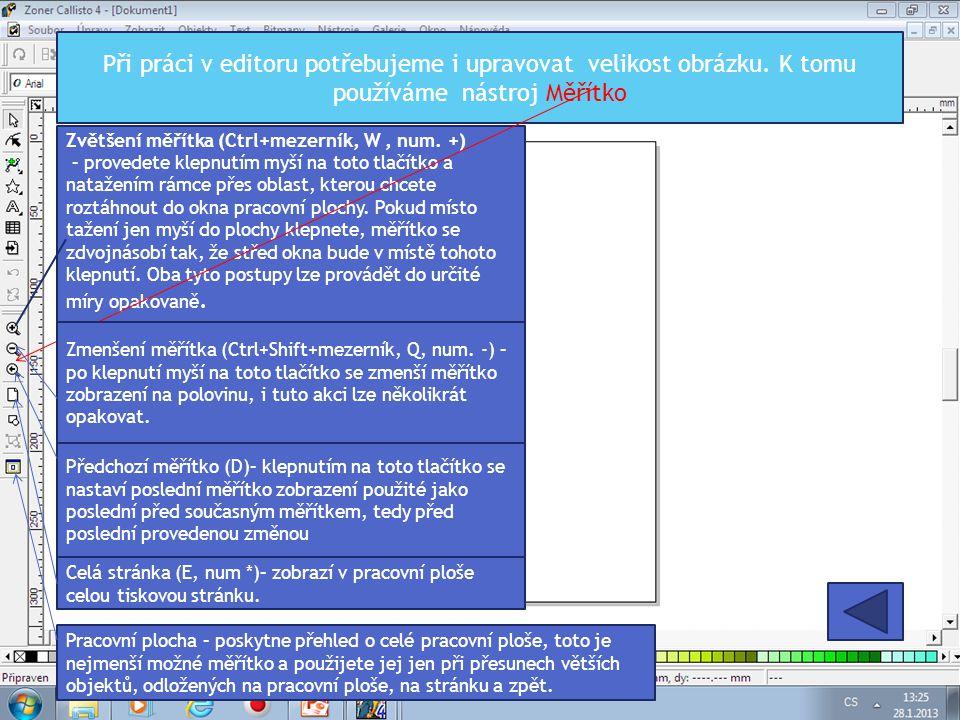 Rozdělení okna pracovní plochy Volba v menu Okno   Rozdělit Pomocí této volby můžete rozdělit okno aktivního dokumentu na více pohledůpohledů