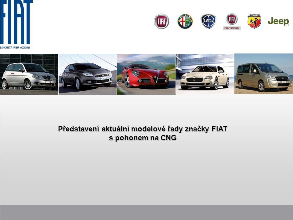 Představení aktuální modelové řady značky FIAT s pohonem na CNG