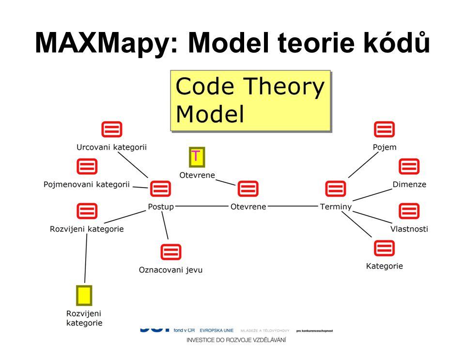MAXMapy: Model teorie kódů