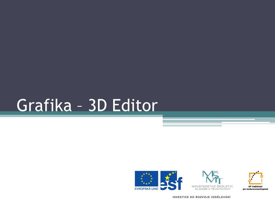 Grafika – 3D Editor