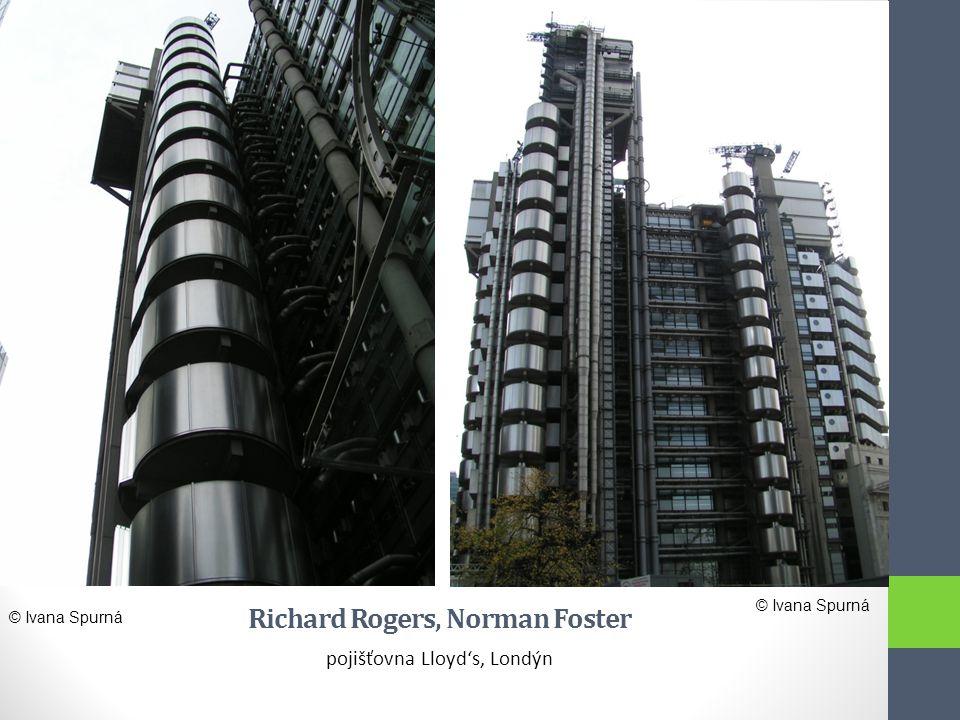 Richard Rogers, Norman Foster pojišťovna Lloyd's, Londýn © Ivana Spurná