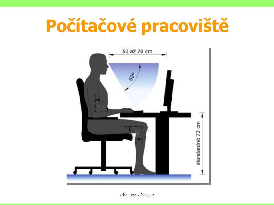 Zdroj: www.freng.cz Počítačové pracoviště