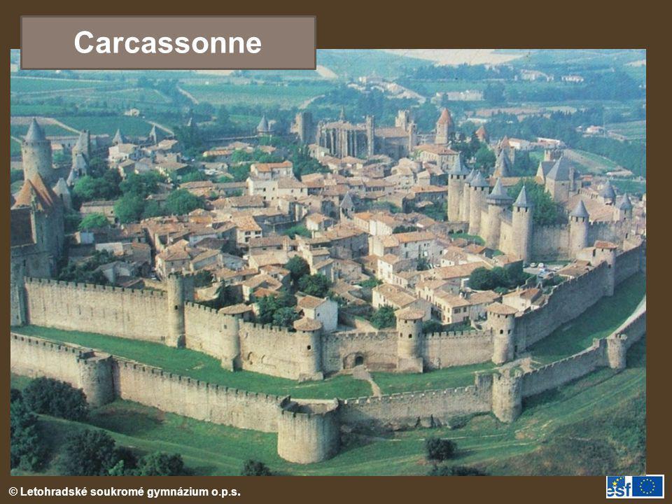© Letohradské soukromé gymnázium o.p.s. Carcassonne