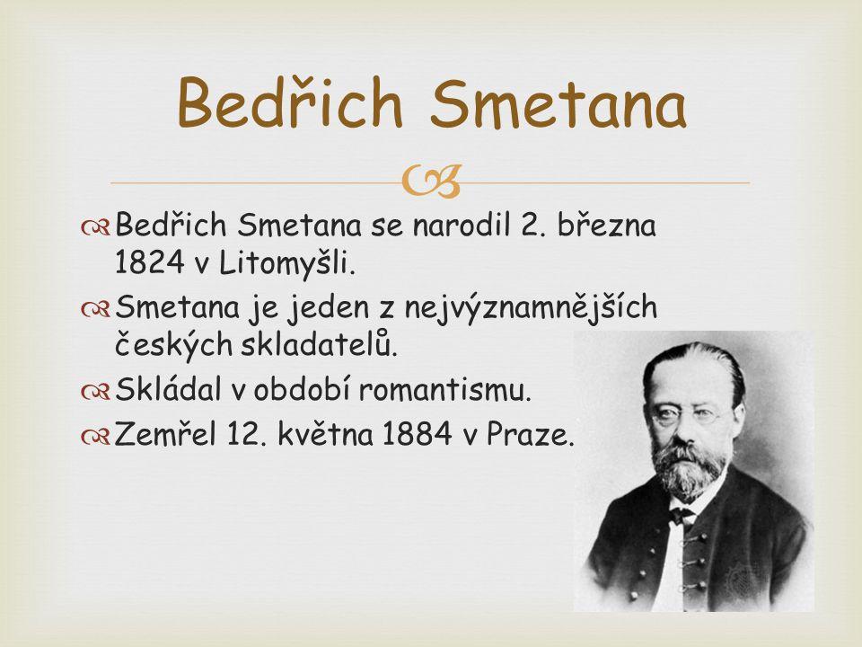  Další básně Mé Vlasti:  Šárka  Z českých luhů a hájů  Tábor  Blaník Dílo