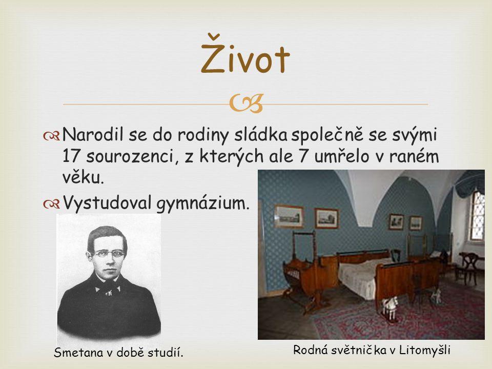   S Bedřichem Smetanou spojujeme hned dva české festivaly.