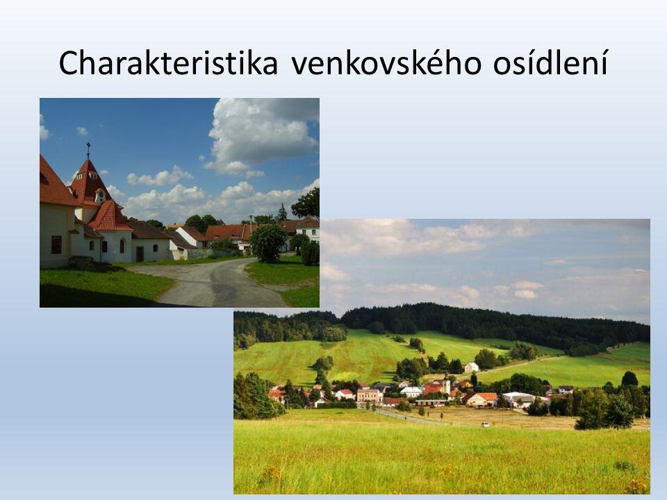 Klady života na vesnici • Kvalita životního prostředí • Větší soukromí, soudržnost lidí • Malá kriminalita • Levnější život