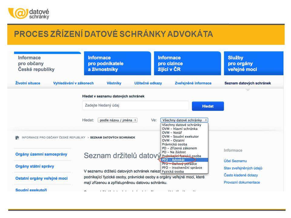 Pokud nemáte v ruce funkční přístupové údaje: •Požádejte na Czech POINTu o zneplatnění přístupových údajů a vydání nových.