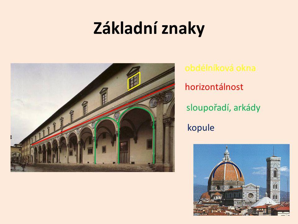 Funkce staveb • Proměna funkce staveb – snaha o reprezentativnost • Stavba měla svého majitele reprezentovat