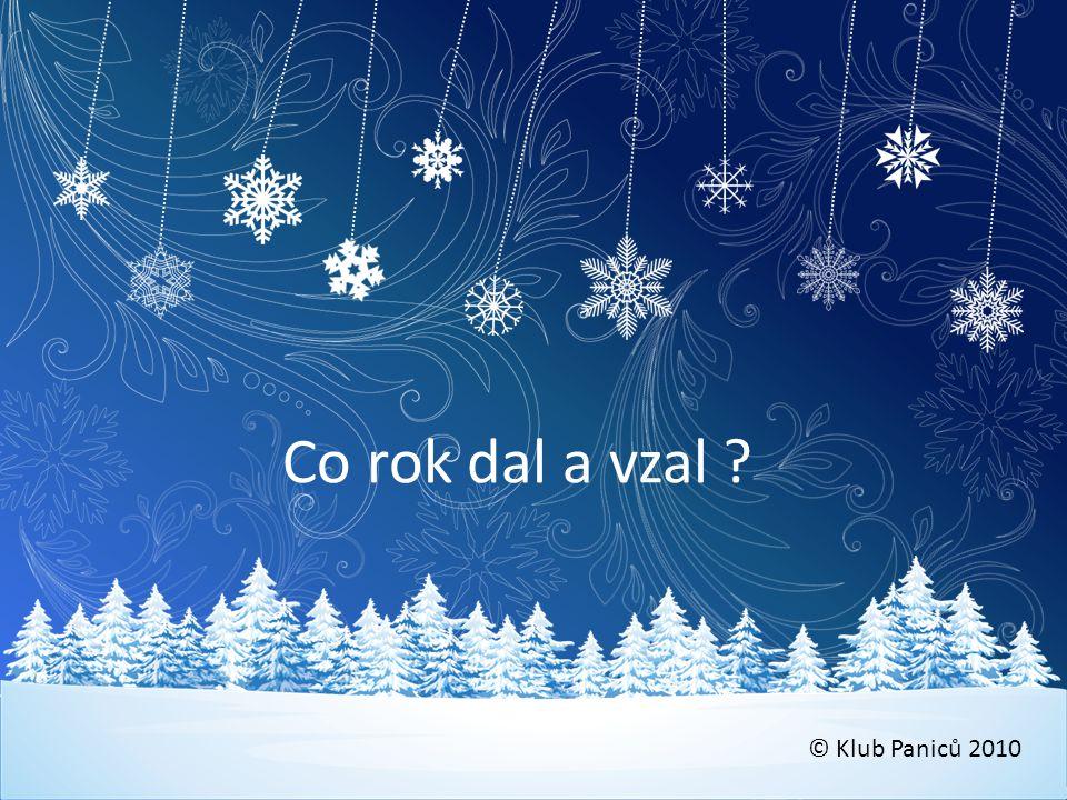 Akcie 2010 Leden • 17.1.*Saša Chlumský • 30.1.-5.2.