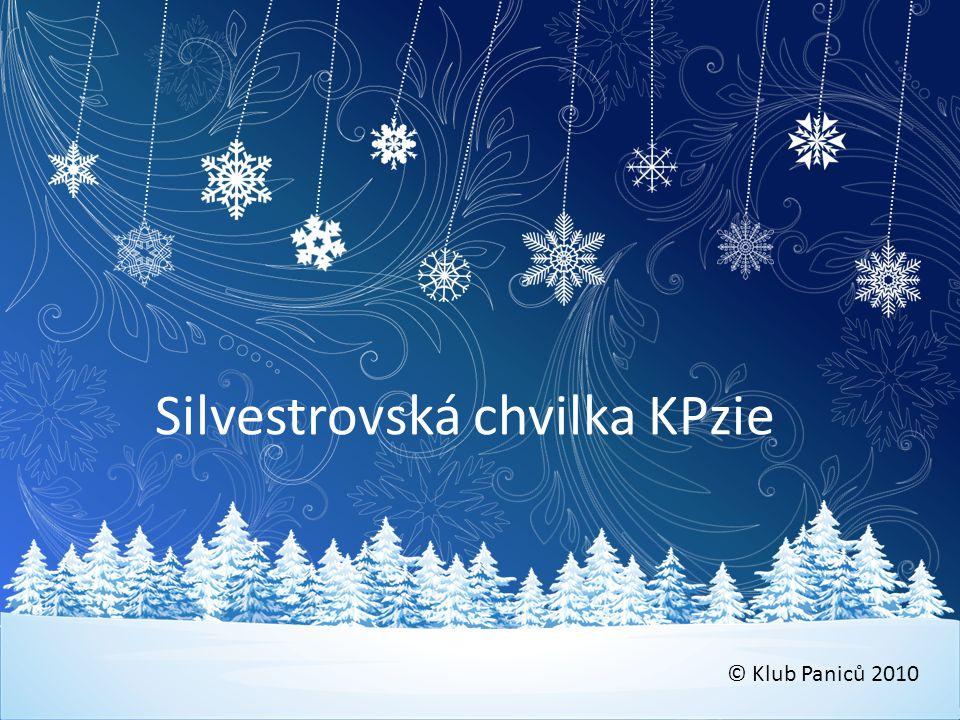 Silvestrovská chvilka KPzie © Klub Paniců 2010