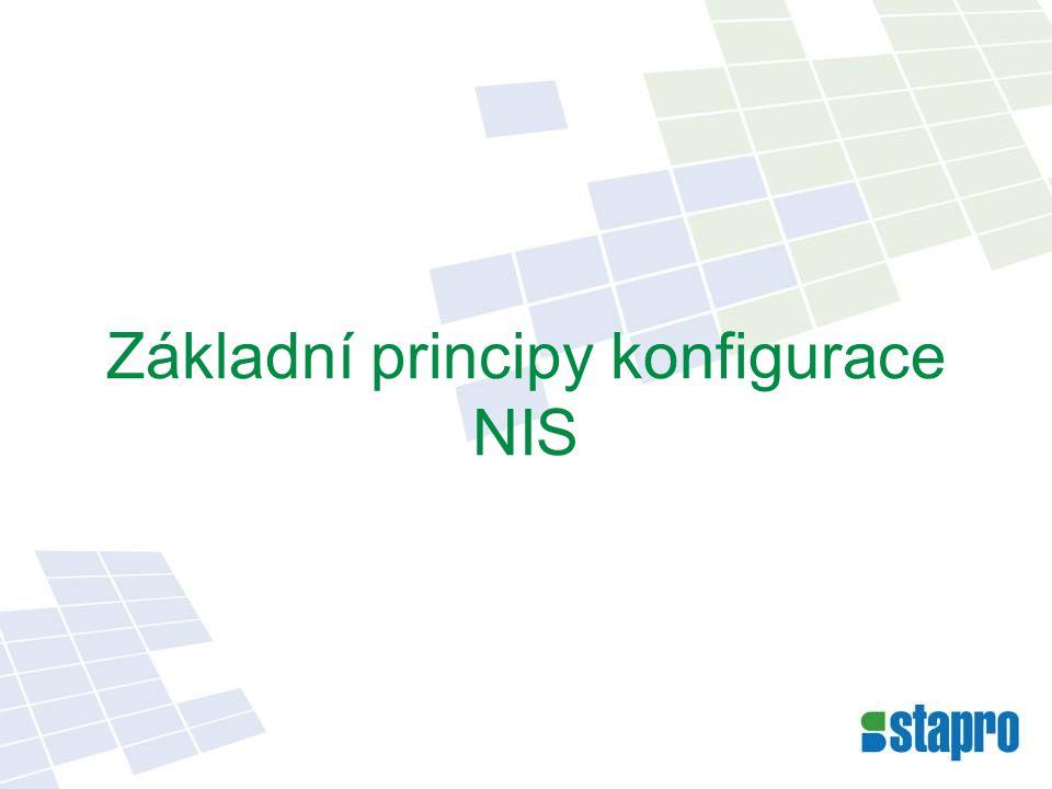 Základní principy konfigurace NIS