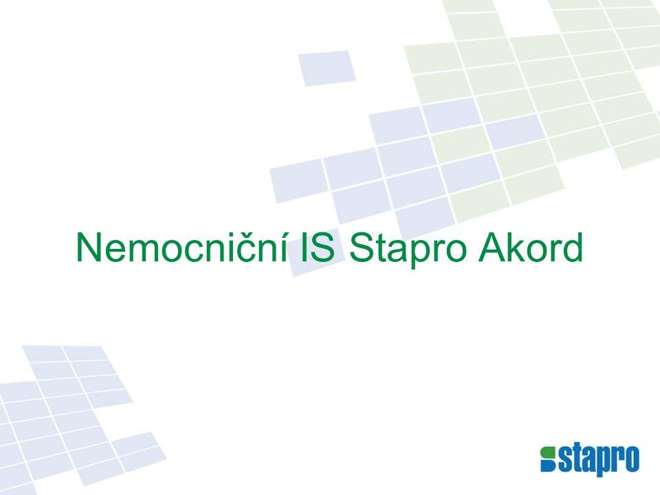 Konfigurační možnosti NIS Stapro Akord
