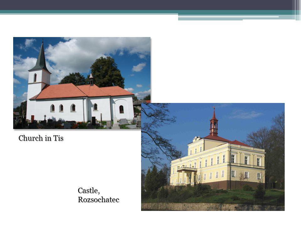 Church in Tis Castle, Rozsochatec