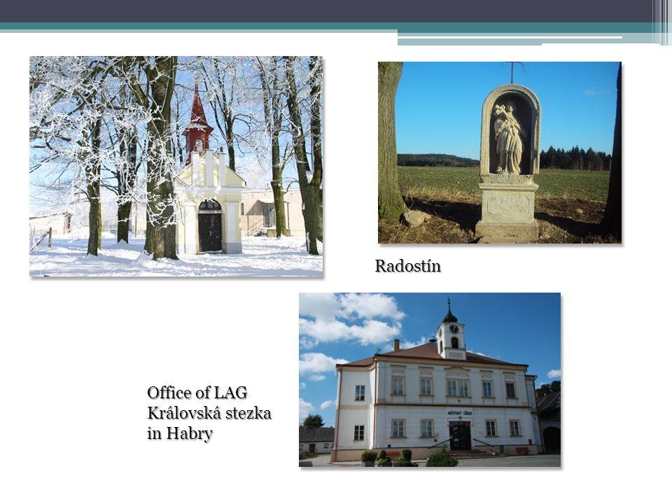 Radostín Office of LAG Královská stezka in Habry