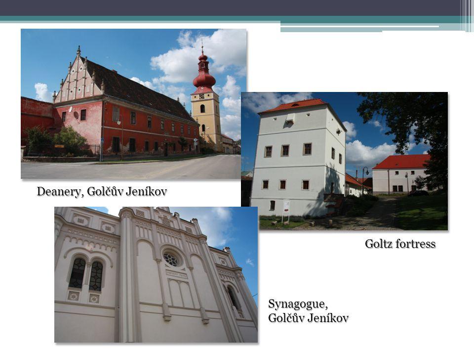 Deanery, Golčův Jeníkov Goltz fortress Synagogue, Golčův Jeníkov