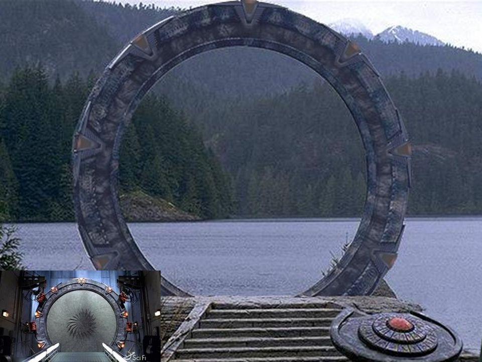 ZAŘÍZENÍ NA NIČENÍ HVĚZDNÝCH BRAN Tato zbraň postavená Antiky využívá jednu bránu ke zničení druhé.