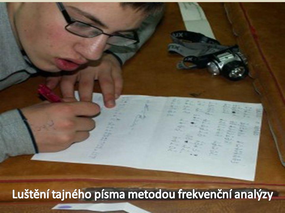 -Během besedy se seznamují s starověkými metodami šifrování