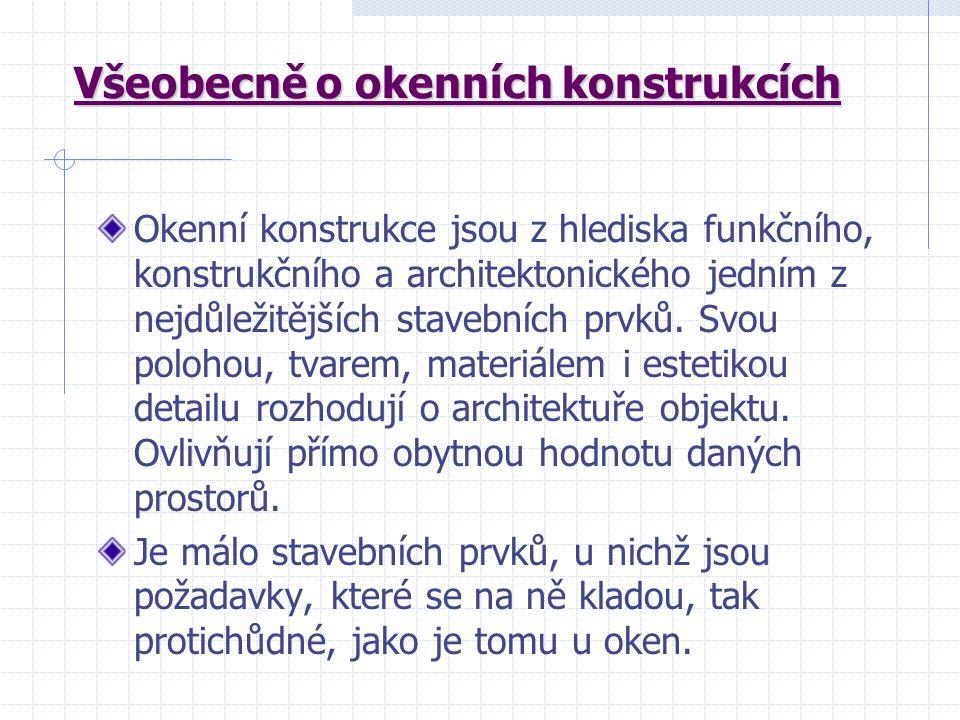 Střední odborná škola stavební Karlovy Vary Sabinovo náměstí 16 360 09 Karlovy Vary Bohuslav Vinter odborný učitel uvádí pro T2 tuto výukovou prezentaci : D Ř E V Ě N Á O K N A