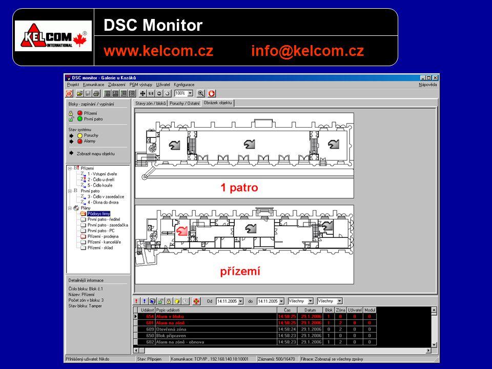 DSC Monitor www.kelcom.czinfo@kelcom.cz