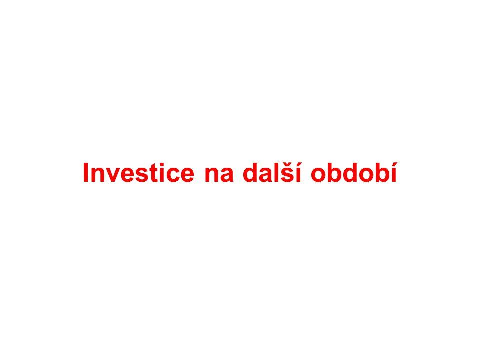 Investice na další období