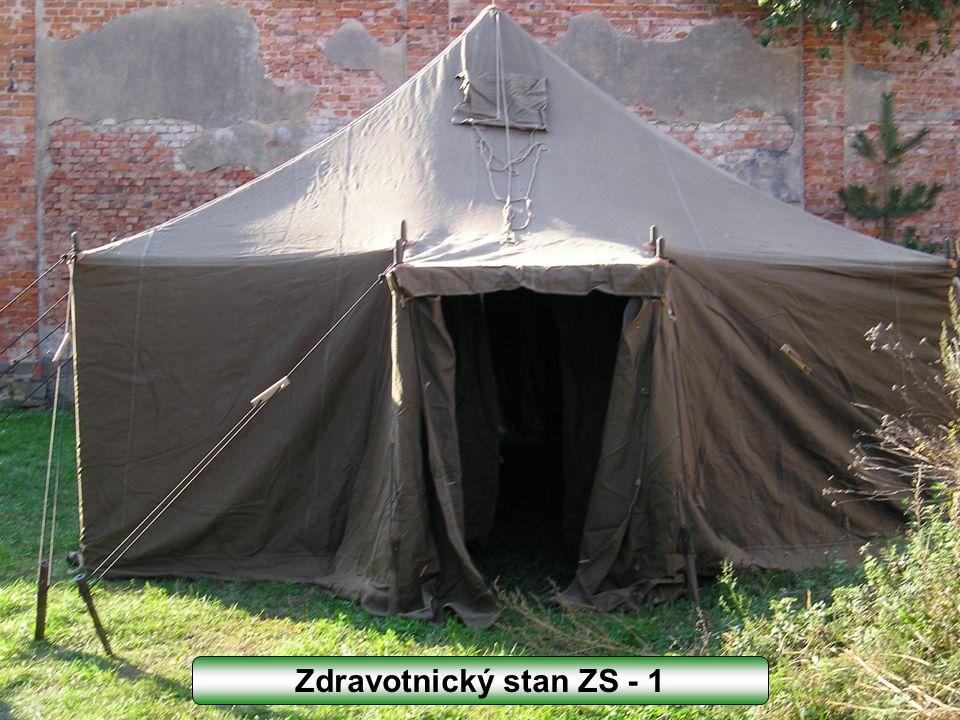 Zdravotnický stan ZS - 1
