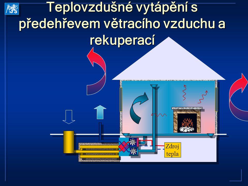 Teplovodní otopné soustavy  Princip  Otopná soustava  zdroj  potrubní síť  spotřebiče tepla  Teplonosná látka  voda (nemrznoucí směs)  pára