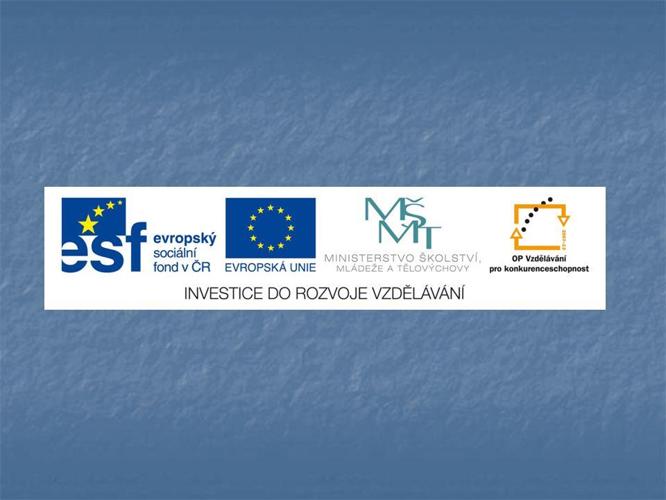 EU ICT2/1/1/9 Člověk a svět práce - 4.,5.