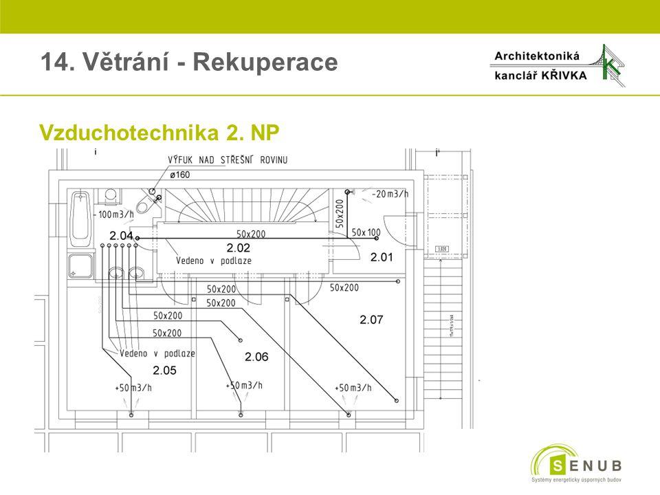 oVzduchotechnika 2. NP 14. Větrání - Rekuperace