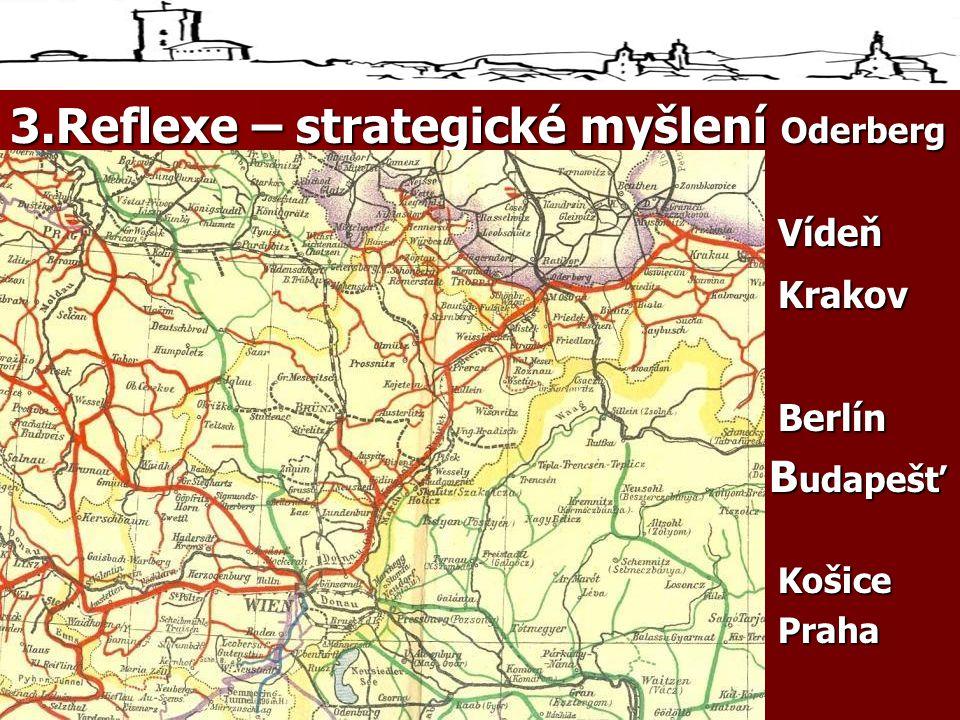 3.Reflexe – strategické myšlení Oderberg (Oderberg Vídeň KrakovBerlín B udapešť B udapešťKošicePrahaBuda
