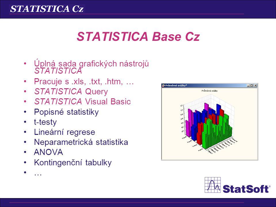 •Indexy způsobilosti (Cp, Cpk, …) •Indexy výkonnosti (Pp, Ppk, …) •Různá rozdělení •Linearita měřidel •Analýza reprodukovatelnosti a opakovatelnosti (
