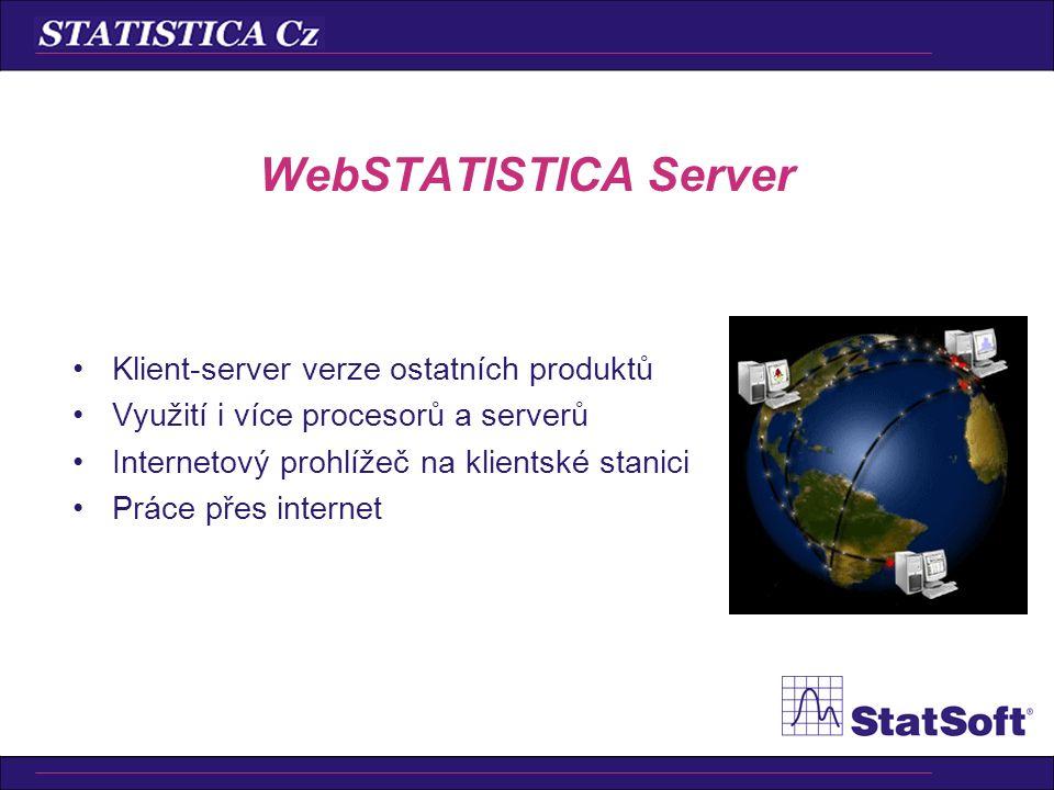 •Podnikový systém pro řízení kvality •Základní produkt pro Six Sigma •Pro všechny typy uživatelů: –operátoři (vkládání dat, spouštění analýz) –inženýř