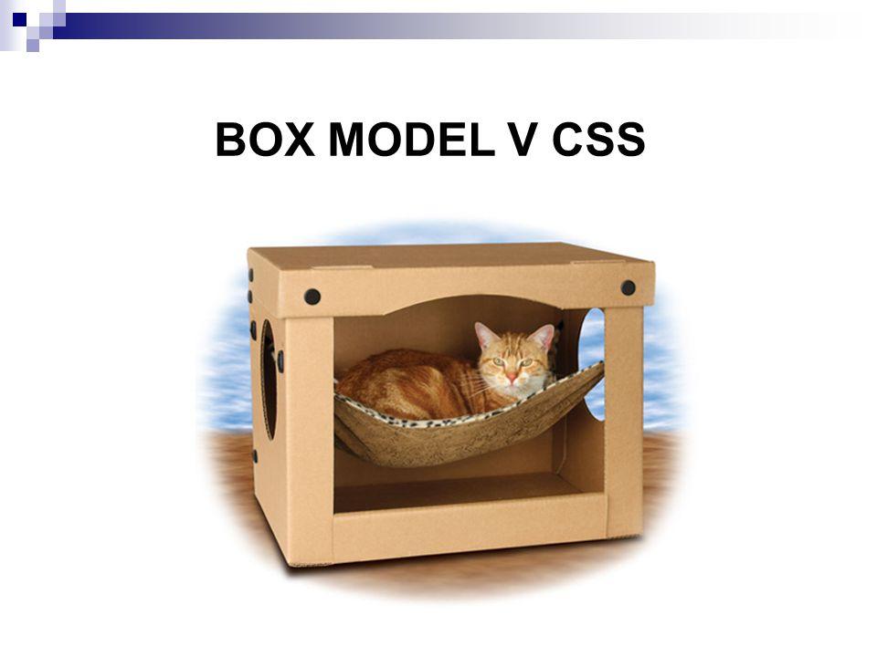 BOX MODEL V CSS
